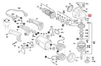 Caixa da Engrenagem Esmerilhadeira GWS 20-180/20-230 Bosch