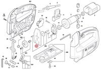 Contrapeso Serra Tico-tico GST 650 Bosch Original