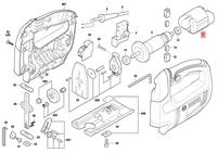 Estator Serra Tico-tico GST 650 Bosch 220V Original