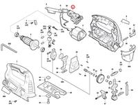 Interruptor Serra Tico-tico GST 700 Bosch 127V Original