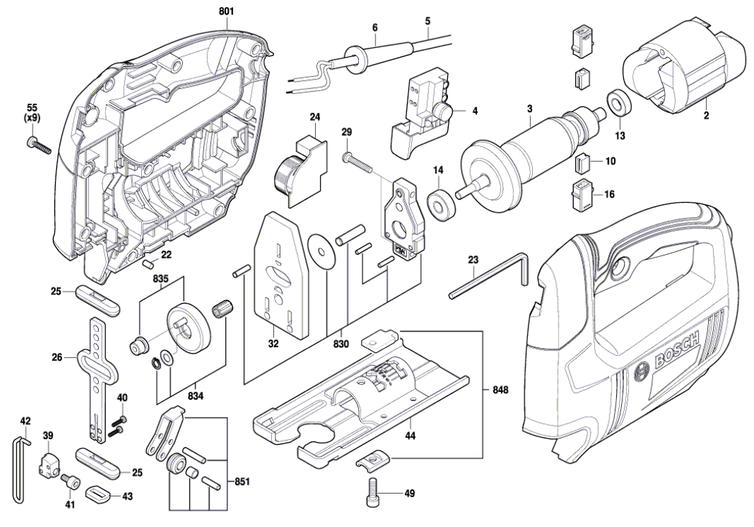 Serra Tico-tico GST 650 Bosch