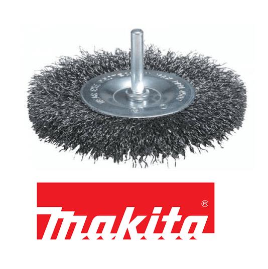 Escova de aço roda Makita 50mm x 6mm para Furadeira