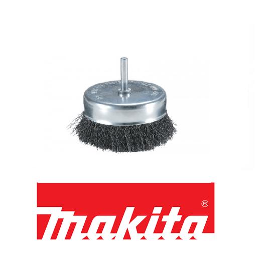 Escova de aço copo 38x6mm para furadeira Makita