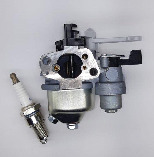 Carburador + Vela Motor 5.5/6.5/7.0 Branco/Toyama/Buffalo
