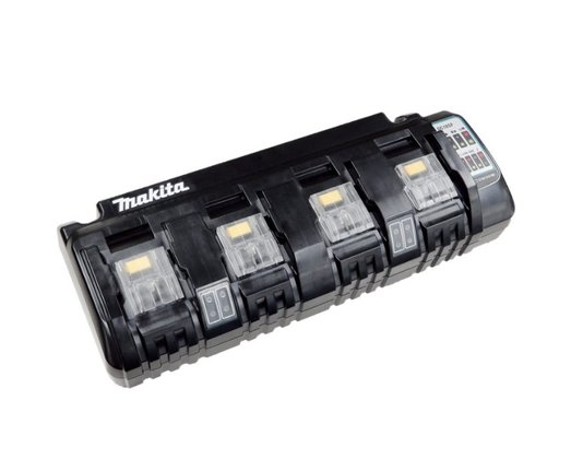 Carregador Baterias 18V Makita 4 Postos 127v Original