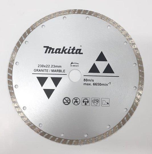 Disco Diamantado Esmerilhadeira 9'' Mármore/Granito Makita