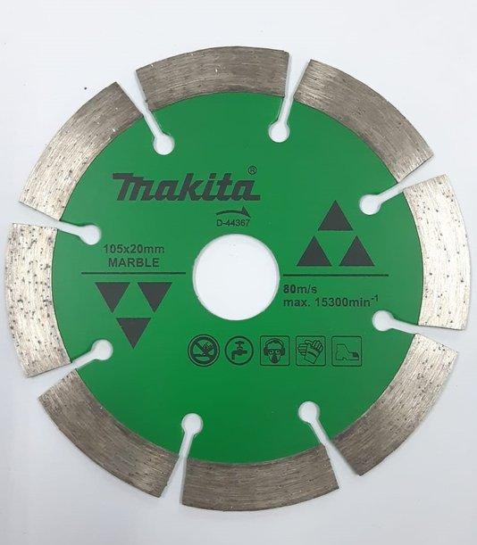 Disco Diamantado Makita 105x20mm Corte em Mármores a Úmido