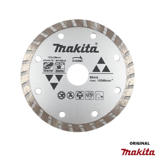 Disco Diamantado Makita 105x20mm Mármore/Granito Seco