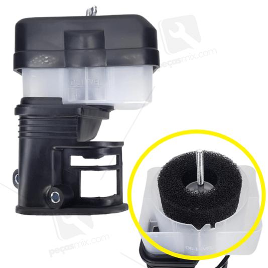 Filtro de Ar Banhado à Óleo Motores 8.0/8.5 HP Gasolina