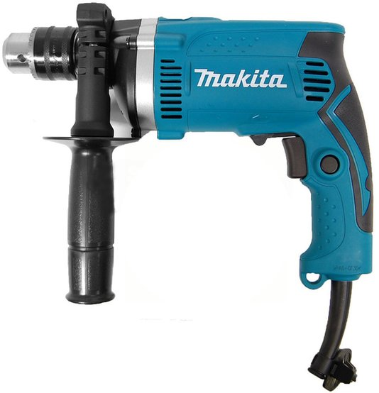 "Furadeira de impacto Makita 1/2"" HP1630 710w 127V"