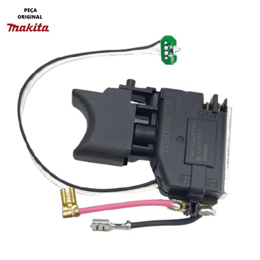 Interruptor Parafusadeira Makita HP2014D/HP330D/TW100D
