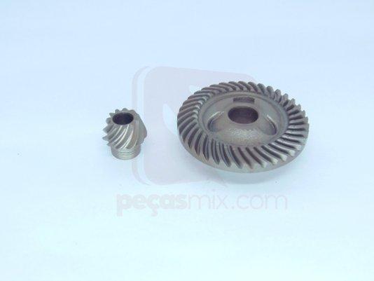 Jogo Engrenagem e pinhão P/ Esmerilhadeira Bosch- 1600A0022W