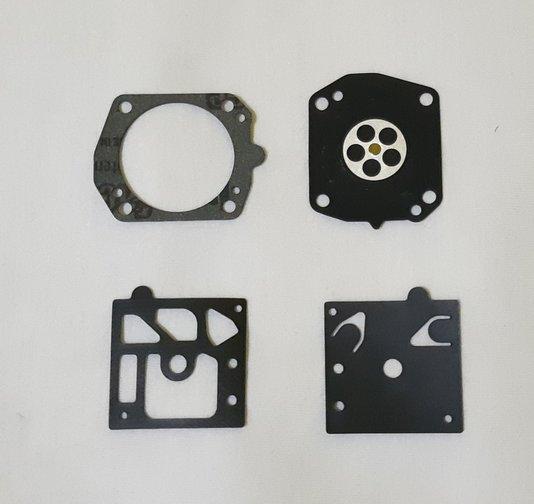 Jogo Reparo Carburador Honda GX100/GXR120 Diafragma/Membrana