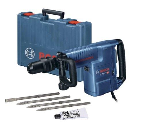 Martelo Demolidor Bosch GSH 11E 1500w 11Kg + Acessórios