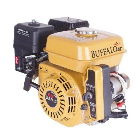 Motor 6.5 HP Buffalo Gasolina Estacionário Partida Elétrica