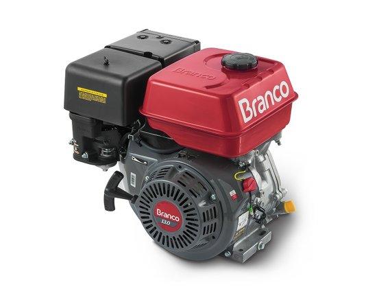 Motor Gasolina 13,0 CV Branco Estacionário Partida Manual