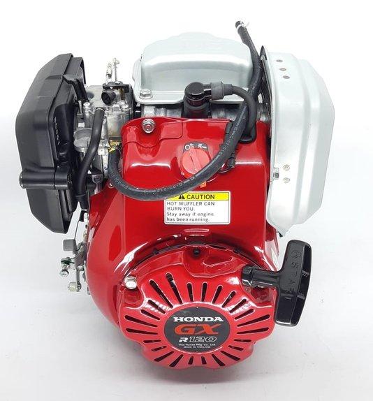 Motor Honda GXR120 Compactador de Solo com Carburador Bóia
