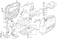 Engrenagem Serra Tico-tico GST 650 Bosch Original