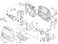 Estator Serra Tico-tico GST 700 Bosch 127V Original