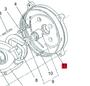 Anel O-ring da carcaça bomba top3  / BD705CF 3 - 10809980