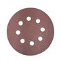 Disco Lixadeira Velcro 125mm Grão 80 Makita com 10 pçs