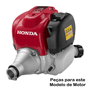 Junta Flange Carburador Motor Honda GX35 Roçadeira Original
