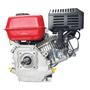 Motor Gasolina 6.5 HP Branco Estacionário Partida Manual