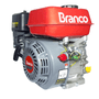 Motor Gasolina 7.0 HP Branco Estacionário Partida Manual