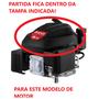 Partida Retrátil Motor 6.0 Gasolina Eixo Vertical Original